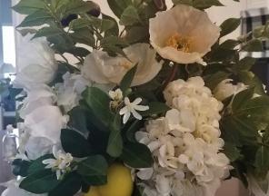 White-Multi-Floral
